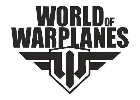 "Наклейка на авто ""World of warplanes"""